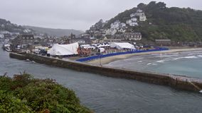 Looe festiwal muzyki, Cornwall Obraz Stock