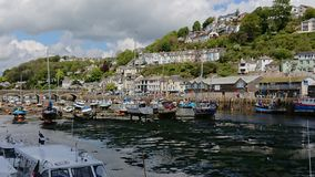 Looe Harbour royalty free stock images