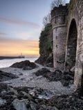 Looe i Cornwall Royaltyfri Bild