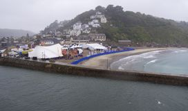 Looe Music Festival, Cornwall Stock Photo