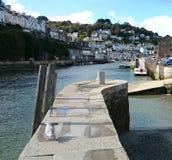 Looe nadmorski, Cornwall UK obraz stock