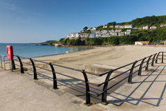 Looe seafront Cornwall England Royalty Free Stock Photography