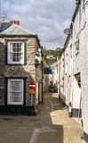 LOOE, Cornwall, England, UK - September 10 2018: Looe a very popular fishing port and Beach Holiday Resort royalty free stock image