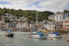 Looe in Summer, Cornwall Royalty Free Stock Photo