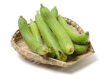 Loofah fresco È molto ricco di valore nutrizionale Può non solo commestibile, ma anche avere valore medicinale in cinese il cines immagini stock libere da diritti
