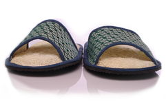 Loofah shoes Stock Images