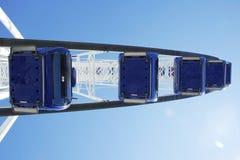 Looging alto su una ruota dei traghetti Fotografie Stock Libere da Diritti