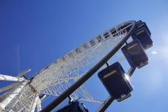 Looging alto su una ruota dei traghetti Fotografia Stock Libera da Diritti