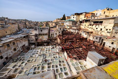 Looierij in Fez, Marokko Royalty-vrije Stock Foto's