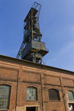 Look from the bottom on the Landek mining tower Royalty Free Stock Image