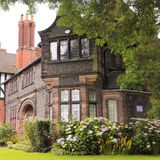 A Look at Bridge Cottage, Port Sunlight Royalty Free Stock Image