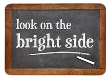 Look on the bright side Stock Images