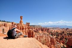 Look on the Bryce Canyon Royalty Free Stock Images