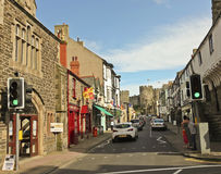 A Look Down Castle Street, Conwy, Wales Royalty Free Stock Photography