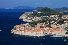 Look at the Dubrovnik, Croatia Royalty Free Stock Photography