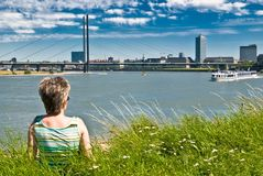 Look at Dusseldorf Stock Images