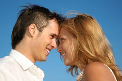 Look at each other Royalty Free Stock Photos