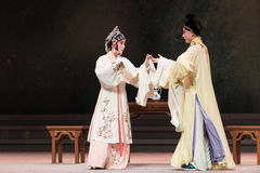 """Look at each other-The third act Male Yellow Wine-Kunqu Opera""""Madame White Snake"""" Royalty Free Stock Photography"""