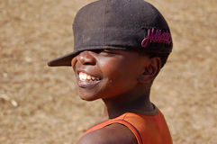 The look on the faces of the children of Africa - Village Pomeri Royalty Free Stock Photos
