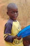 The look on the faces of the children of Africa - Village Pomeri Royalty Free Stock Image