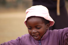 The look on the faces of the children of Africa - Village Pomeri Stock Photography
