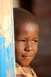 The look on the faces of the children of Africa - Village Pomeri Royalty Free Stock Photography
