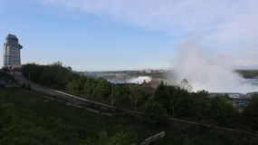 A look at the falls stock image
