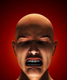 The Look Of Fear. Concept image about being terrified and afraid Royalty Free Stock Photos
