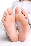 Look at feet Royalty Free Stock Photo