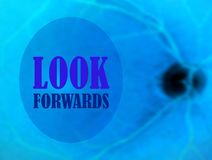 Look forwards Stock Image