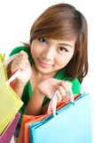 Look how many purchases! Royalty Free Stock Photo