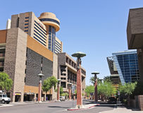 A Look at the Hyatt Regency Phoenix Royalty Free Stock Photos