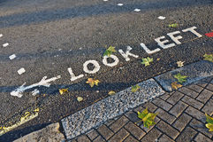 Look Left Stock Photo
