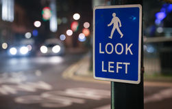 Look left Royalty Free Stock Photos