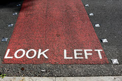 Look left Royalty Free Stock Image