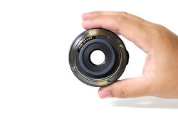 Look through the lens Royalty Free Stock Photo