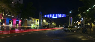 A Look at Little Italy, San Diego Royalty Free Stock Photo