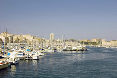 Look at Marseille. From the Mediterranean Sea Stock Images