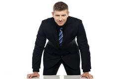 Look me right into my face, lets talk business Royalty Free Stock Photo