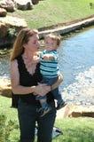 Look mom Royalty Free Stock Photos
