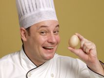 Look my egg. Stock Photos