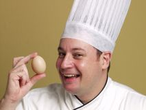 Look my fresh egg. Royalty Free Stock Photography