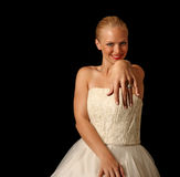 Look at MY Ring! Royalty Free Stock Image