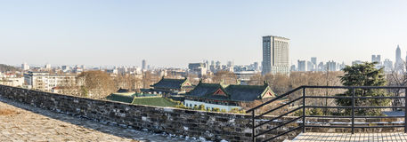 Look at nanjing on the wall Royalty Free Stock Photos