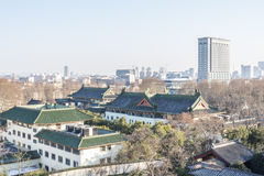 Look at nanjing on the wall Stock Photos