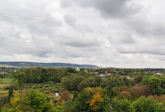 Look from Olesko castle, Ukraine Stock Photos