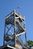 Look-out Tower in Key West. Wooden Look-out Tower in Key West, Florida Stock Photo