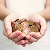 Look after the pennies... Stock Photos