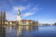 Look at a retirement home, Potsdam, Brandenburg, Germany Stock Image