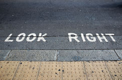 Look Right London Royalty Free Stock Image